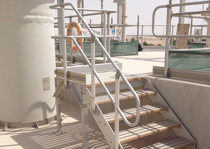 AAI Aluminium Stairs   Type AA430