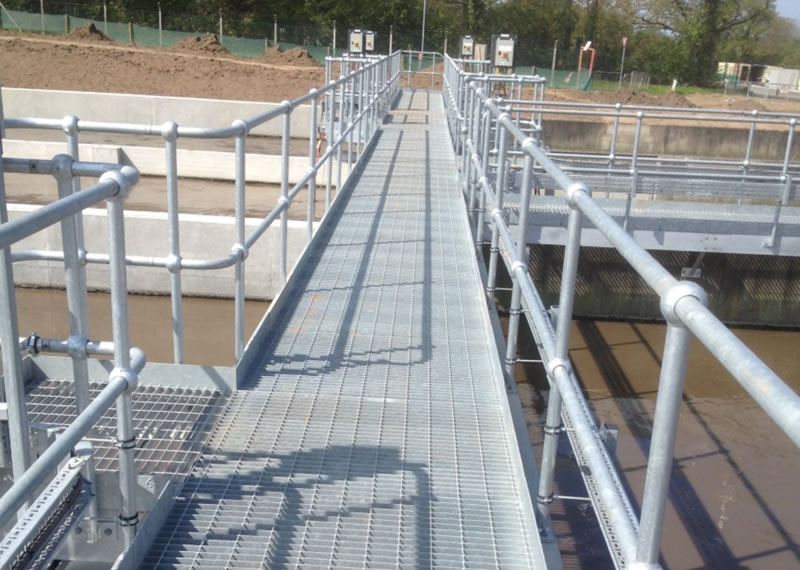 Mild Steel flooring, platforms and walkways
