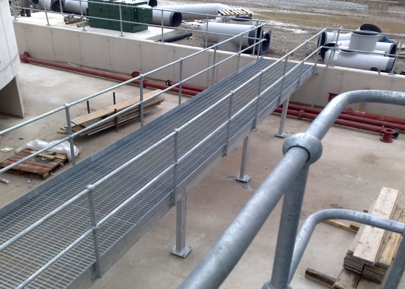 Mild steel handrails and guardrails from ant access